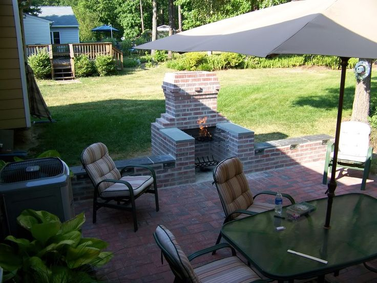 53 best diy brick bbq grill ideas images on pinterest | outdoor ... - Outdoor Patio Grill Ideas
