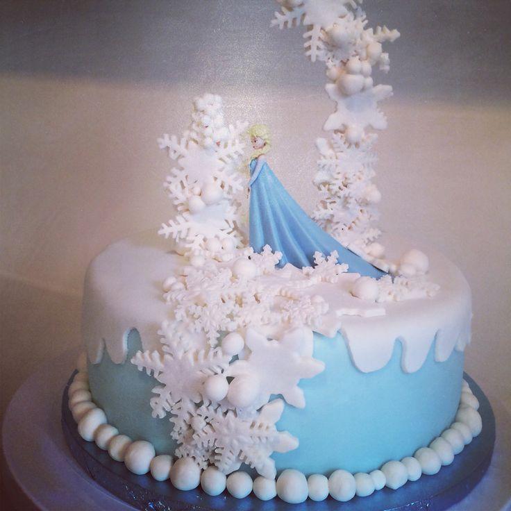 Souvent Les 25 meilleures idées de la catégorie Gâteau reine des neiges  VK83