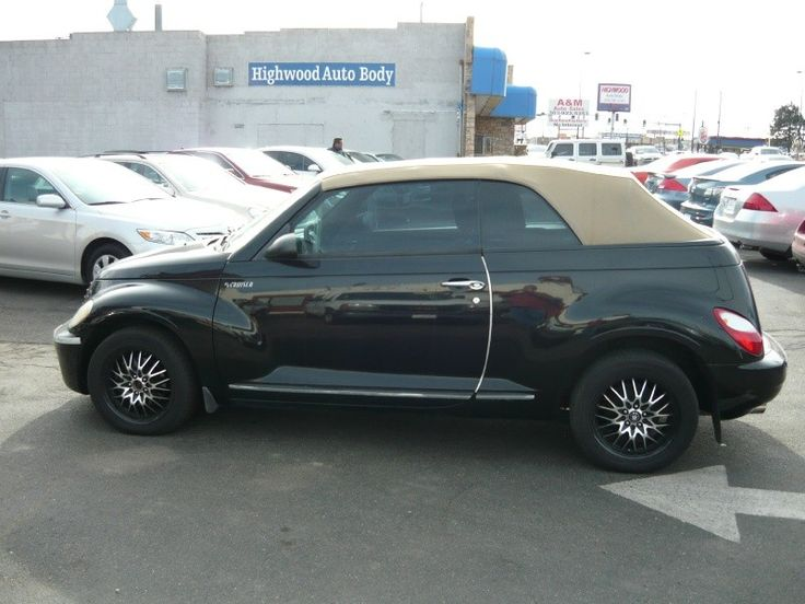 2006 Chrysler PT Cruiser #PTCruiser #Convertible #Auto
