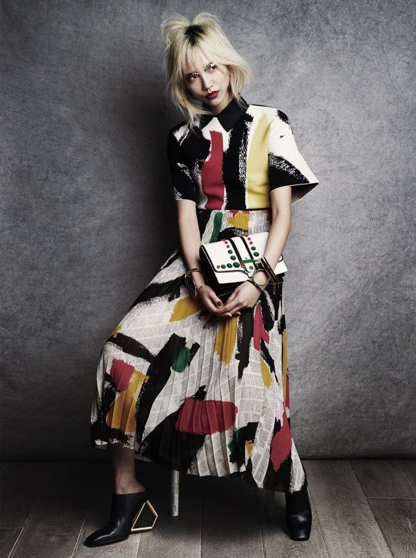 Publication: Vogue Japan April 2014 Model: Soo Joo Park Photographer: Victor Demarchelier Fashion Editor: Aurora Sansone Hair: Diego Da Silva Make-up: Adrien Pinault