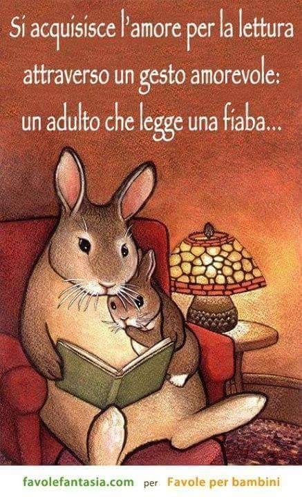 Leggere fin da piccolissimi rende ancor più forte il legame tra genitori e figli ed abitua alla lettura