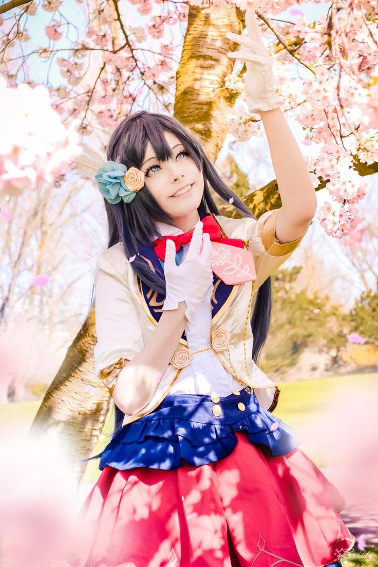 A song for the cherry blossoms 🌸♪ Setsuna Yuki me