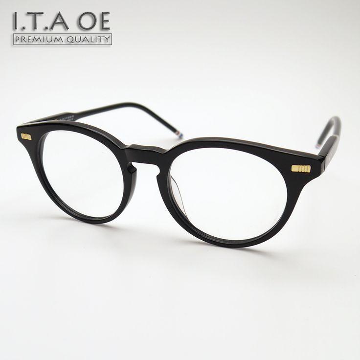 ITAOE TB404 Full Rim Fashion Retro Style Brand Men Women Unisex Browne Myopia Reading Optical Eyewear Frames Glasses Spectacles