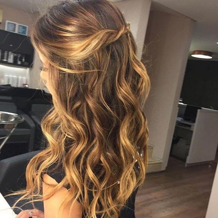 37 wunderschöne halb hoch halb runter Frisuren für die moderne Braut – TANIA MARAS | b …