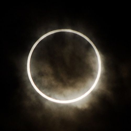 Awesome Photo Of The Solar Eclipse    The best place to see the eclipse was across Asia and parts of the western United States. It was the first solar eclipse visible in North America in nearly 18 years.