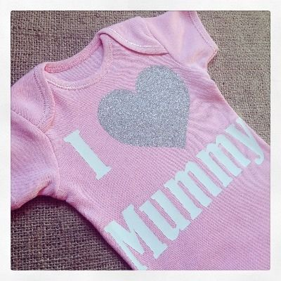 I Love Mummy Baby Onesie Vest from Jellibabies.