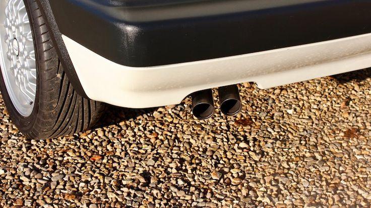 Volkswagen Golf Mk2 GTi with 56k miles - OE Exhaust