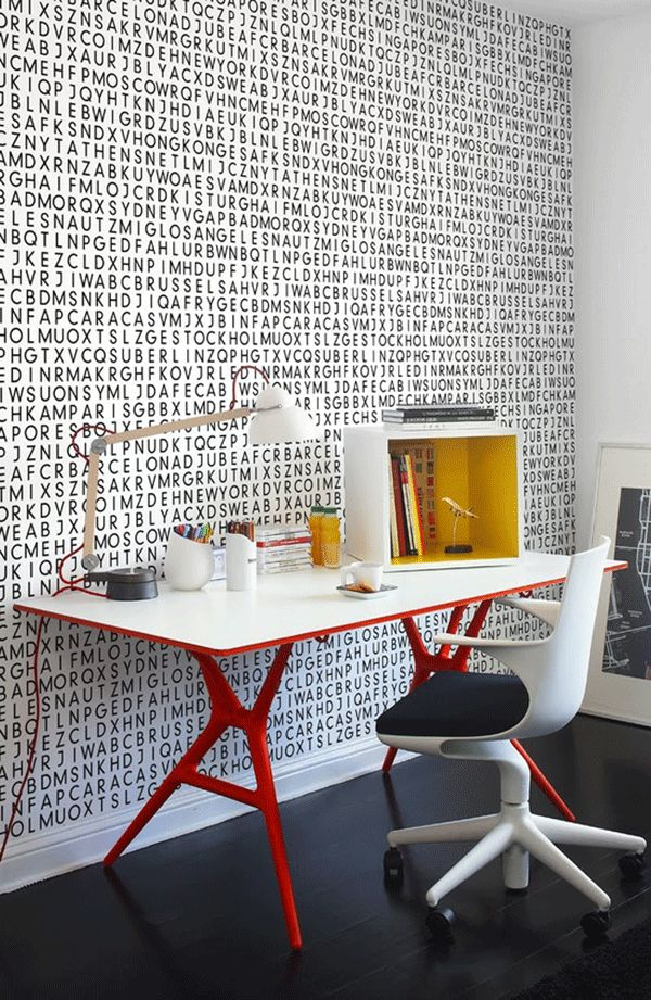 Spoon chair & table by Antonio Citterio with Toan Nguyen #design #office