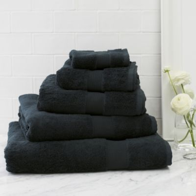 Buy Luxury Egyptian Cotton Towels  - Navy - from The White Company