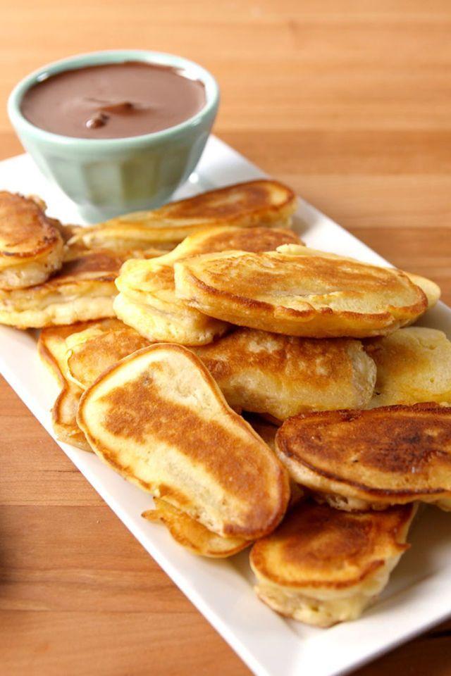 Banana Pancake Dippers  - Delish.com