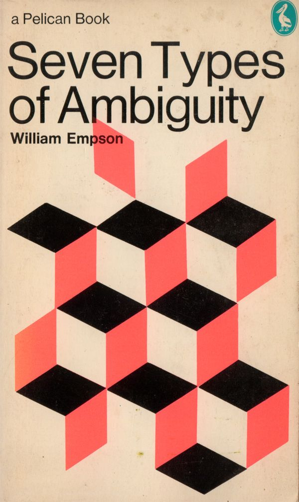 [Seven Types of Ambiguity] It is nor one or two, nor six or eight, maybe seven they are, maybe the hidden also count...
