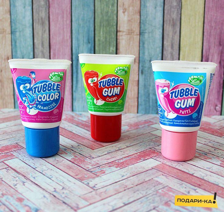 Что подарить ребенку? Как удивить? Жидкая жвачка в тюбике Tubble Gum😱  Удивительная жвачка в тюбике из Франции с насыщенными вкусами тутти-фрутти и вишни. Отличная возможность, чтобы надувать большие пузыри! :)  3 вида: Tutti-Frutti, Cherry, Color🤗😍  #жвачкавтюбике #TubbleGum #жвачкаизФранции #необынаяжвачка #необычныесладости #сладостиизЕвропы #вкусности #вкусностиизевропы #подарки #необычныеподарки #подарика #podarika #Тюмень #подарикаТюмень