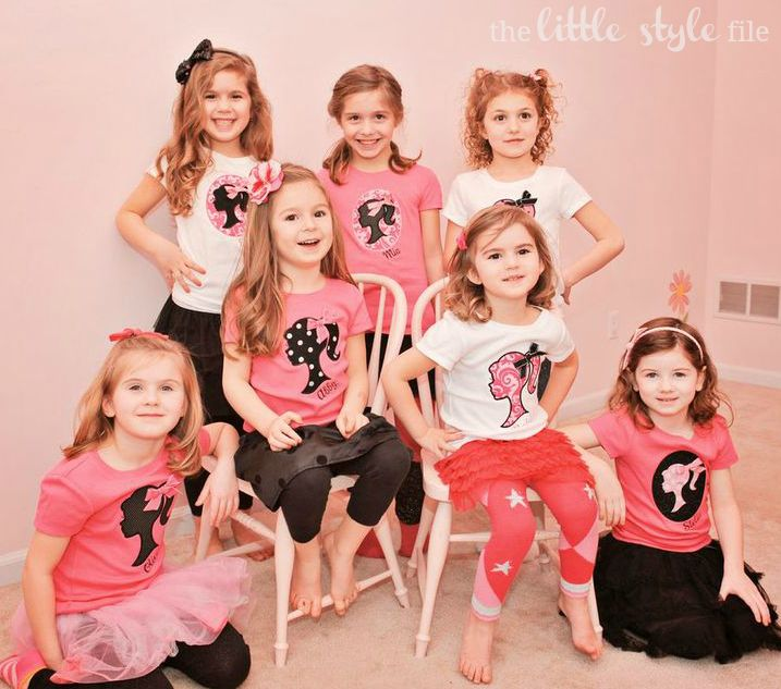 Barbie Party   The Little Style File #barbie