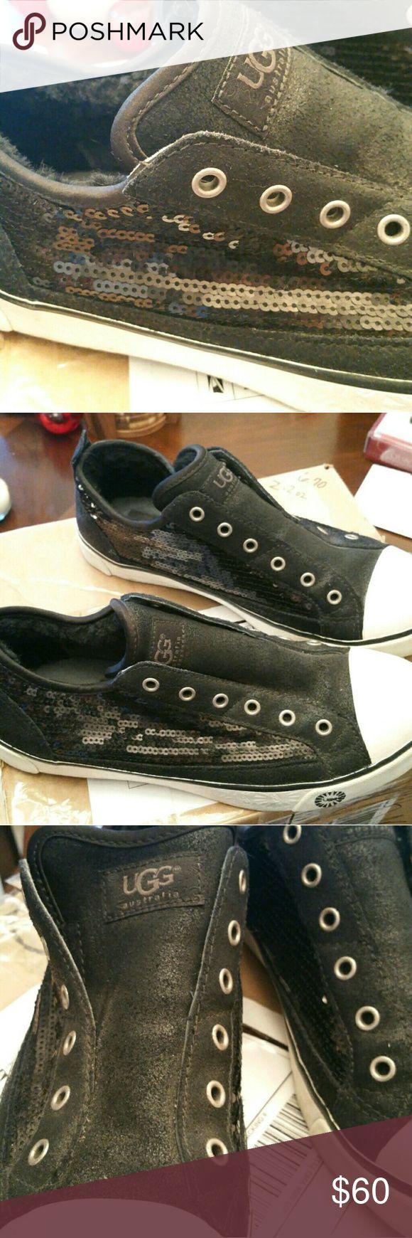 Women's Ugg Sneakers Women's Black Ugg Sneakers Size 8.5 UGG Shoes Sneakers