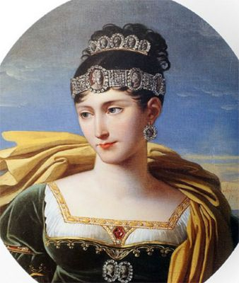Pauline Bonaparte, Napoleon's sister in cameos
