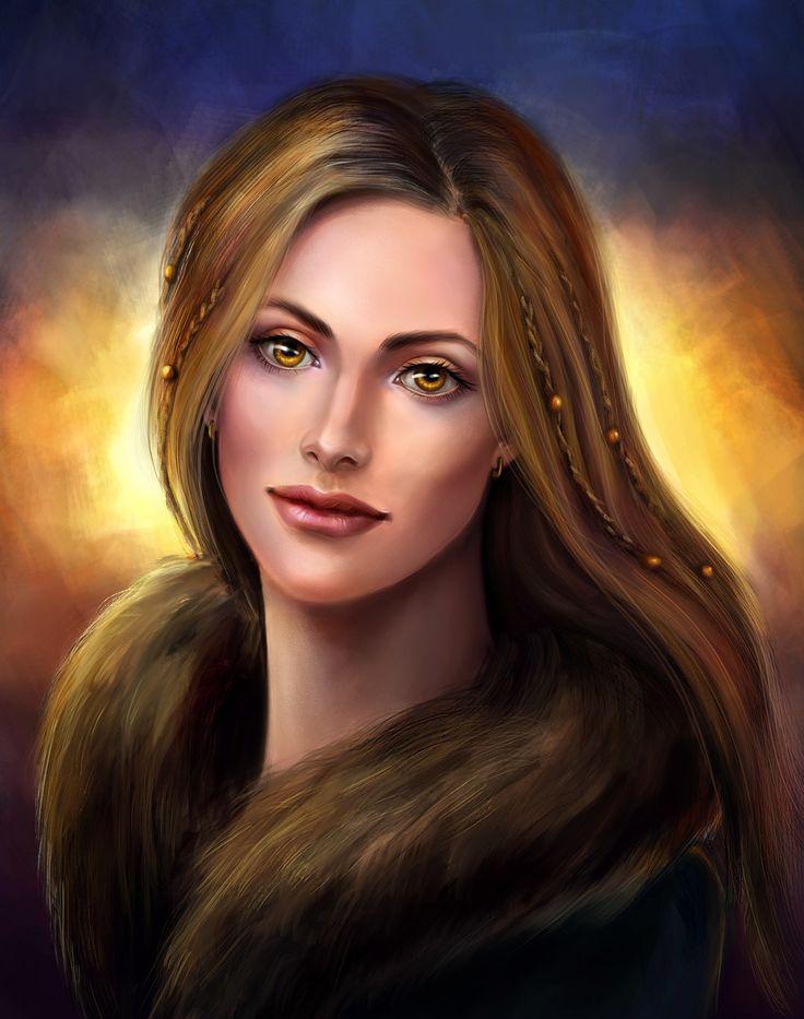 North enchantress, Kceon Nika on ArtStation at https://www.artstation.com/artwork/DEn4y