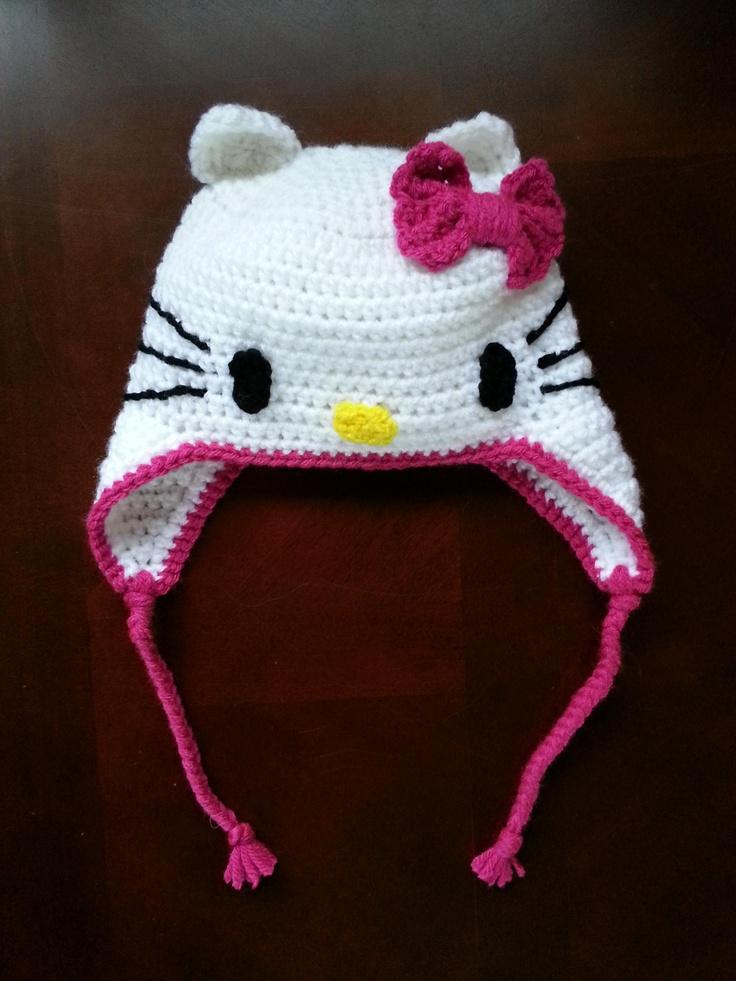 Crochet Baby Hello Kitty Hat Pattern Traitoro For
