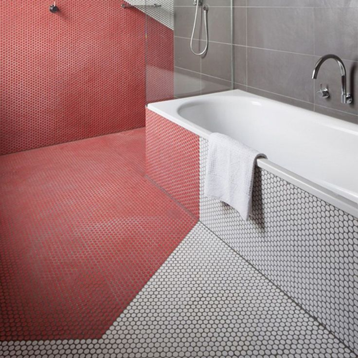 62 best Penny Round Tiles images on Pinterest | Bathroom, Bathrooms ...