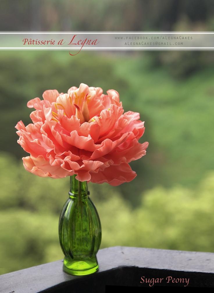 how to make peony fondant flowers