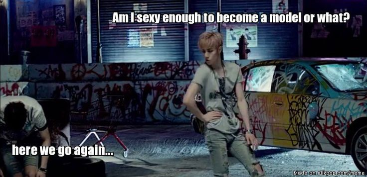 Model Mark | allkpop Meme Center