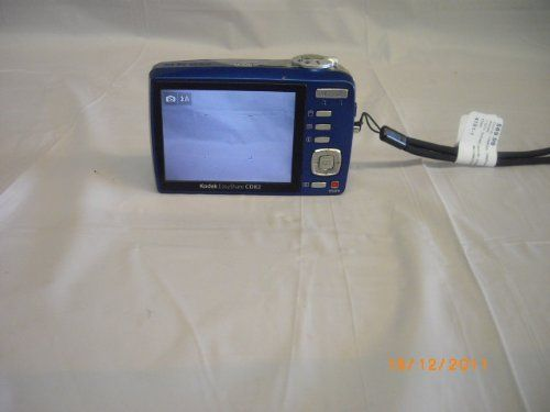Kodak Easyshare CD82 Blue 12MP Digital Camera by Kodak. $125.00. 12MP resolution for crisp enlargements 3x optical zoom lens HD still picture capture  Smart Capture Face detection Blur reduction High ISO settings  Memory card slot for SD/SDHC memory card (cards not included)