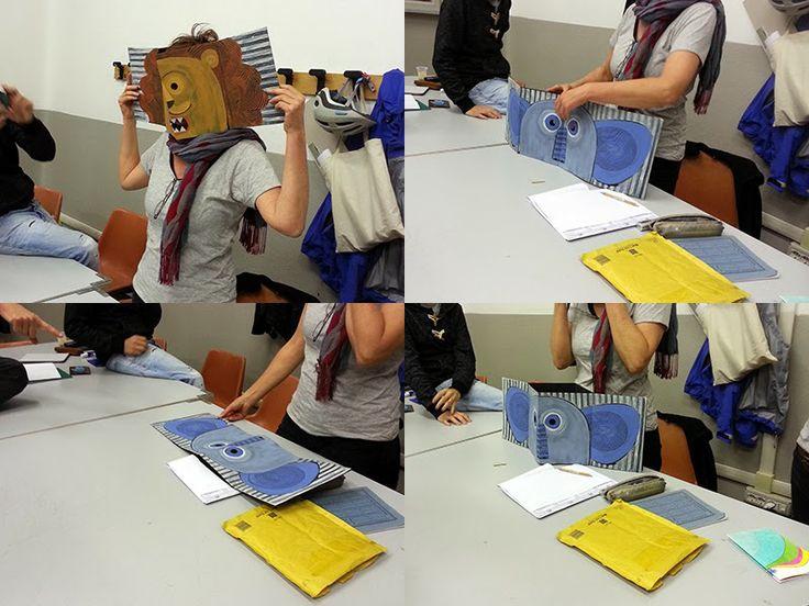 Il libro è maschera, è casa, è foresta. I bellissimi prodotti del corso Progettare Libri alla Scuola superiore d'arte applicata del Castello Sforzesco a Milano, ottobre-gennaio 2013/14