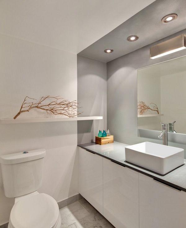 Badezimmer Grau Grün: Wandfarbe badezimmer frische ideen für kleine ...