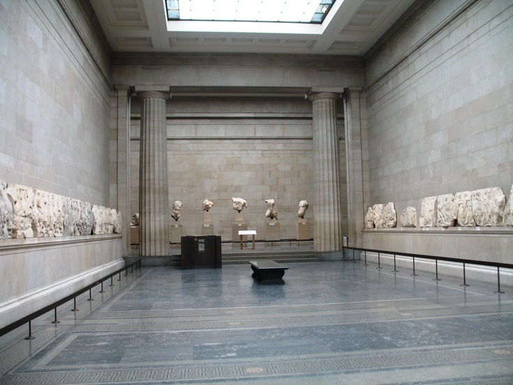 Elgin marbles in the British Museum London