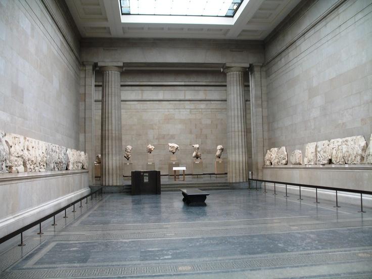 Elgin marbles in the British Museum London