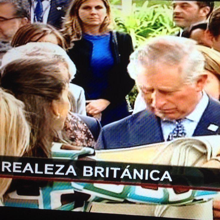Noticiero RCN, Visita Principe Carlos de Inglaterra, Octubre 2014, Bogota, By MY Group Events