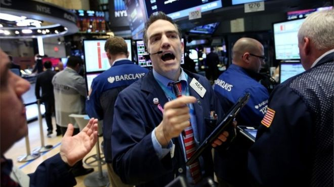 01/20/2016 - Global stock markets dive amid oil rout
