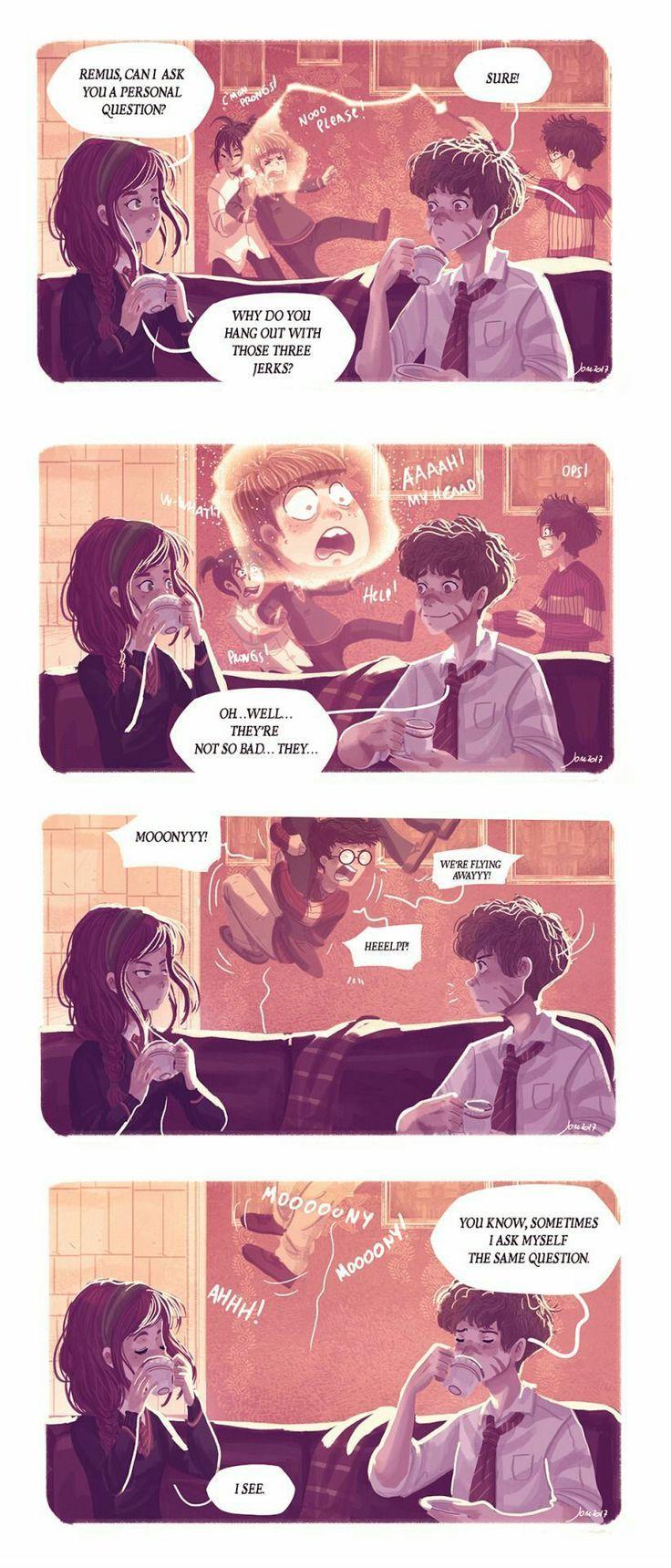 Wir Sind Rumtreiber Harry Potter Comics Harry Potter Art Harry Potter Marauders