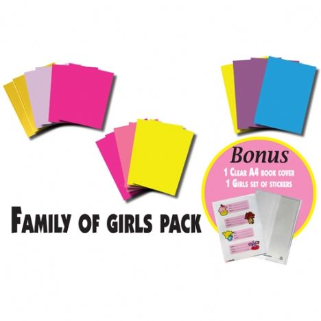 Family of Girls Pack