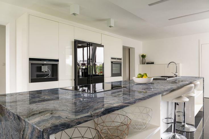 Blue Fusion Quartzite Kitchen Quartzite Countertops White