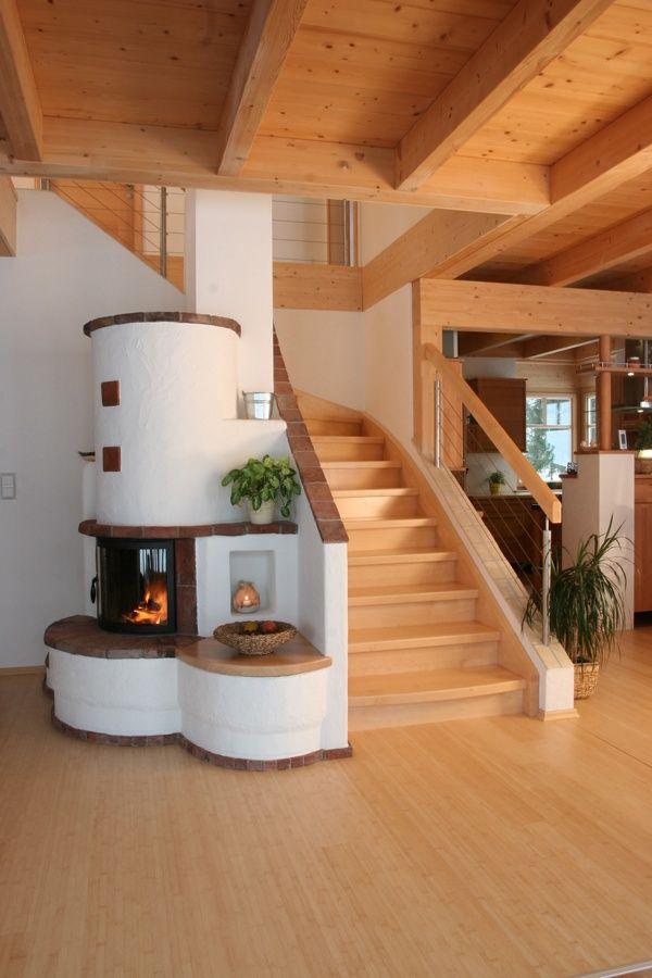 die besten 25 treppengel nder holz ideen auf pinterest. Black Bedroom Furniture Sets. Home Design Ideas