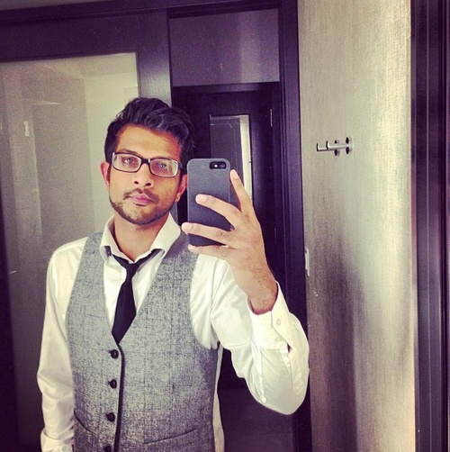 Utkarsh Ambudkar - adored him in pitch perfect, plus he's a snappy dresser.