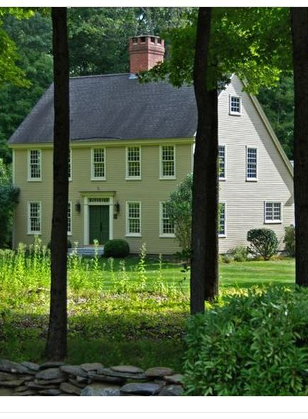 184 Best Colonial New England Houses Images On Pinterest