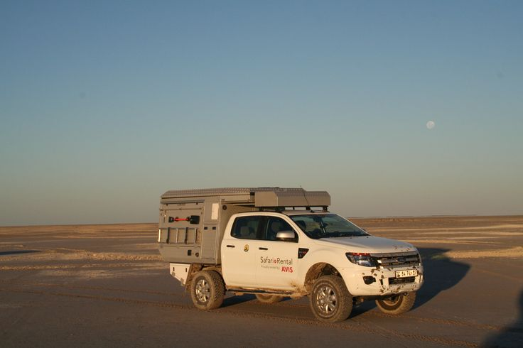 Dusk time to setup camp - Alu-Cab, Botswana