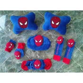 Bantal Mobil Set 6 In 1 Spiderman https://www.bukalapak.com/chamboja