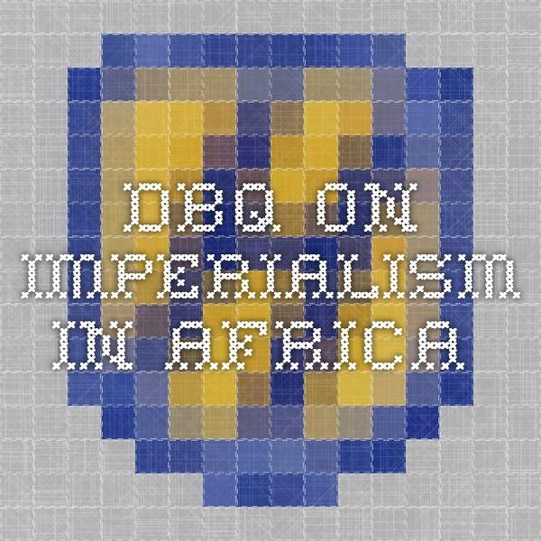 new imperialism dbq essay