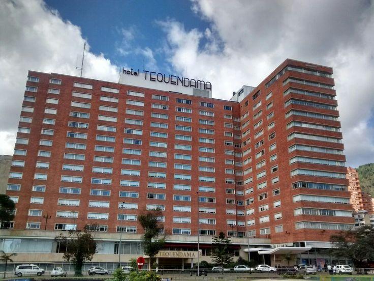 El emblemático Hotel Tequendama del Centro Internacional, en Bogotá.
