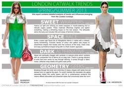 S/S 2013 CatWalk Trend Analysis- London