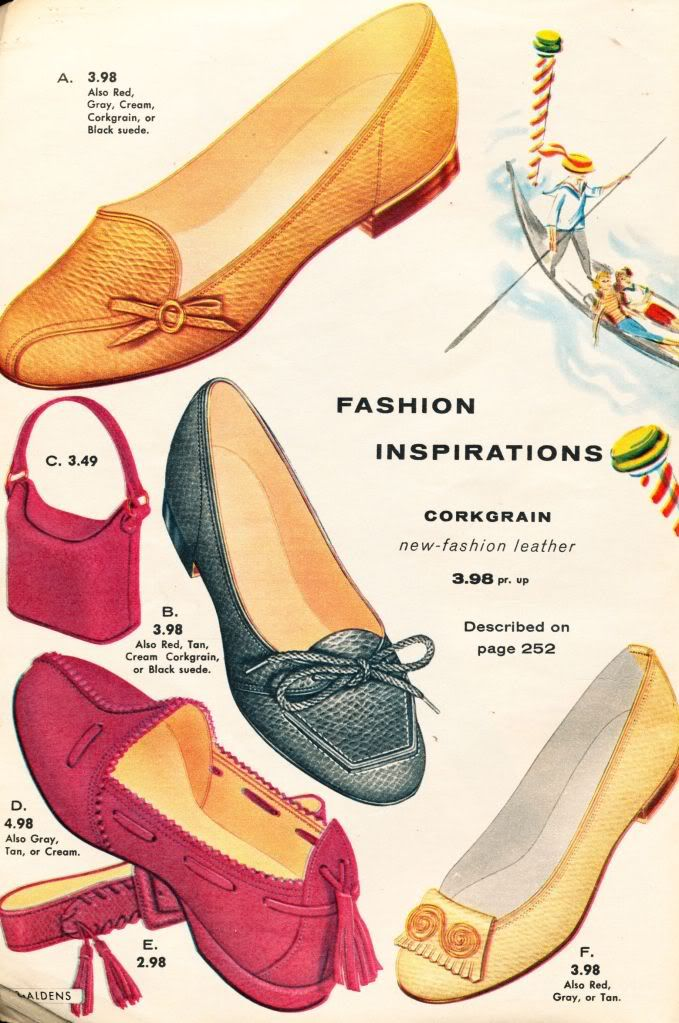 shoes from Aldens Catalog 1956-57