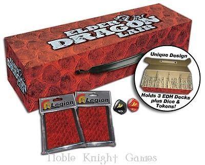 Legion Events Deck Box Elder Dragon Lair - Gold SW