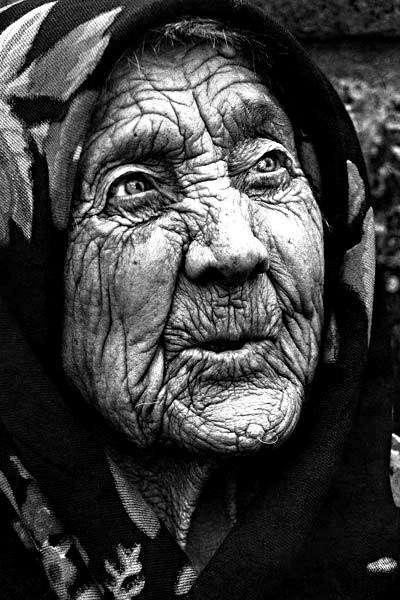 an old woman. she looks like mother willow from pocahontas.