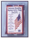 Annin & Co 3X5 Nyl Repl Flag 002450R Replacement Flags by Annin. $16.99. 3' x 5', Nylon Replacement Flag, Sewn Stripes, Embroidered Stars, Colors Fade Resistant, Heavy White Canvas Heading & Brass Grommets, Flag Etiquette Brochure Included.. Save 35% Off!
