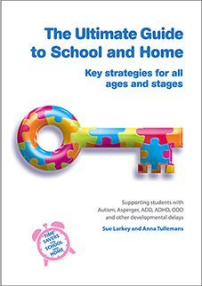 The Ultimate Guide to School and Home book by Sue Larkey and Anna Tullemans. Another book I want to add to our family ASD library. Great resource to dip in and out of.