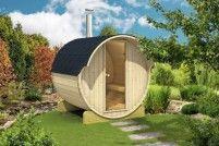 Barelová sauna 220 s elektrickými kamny