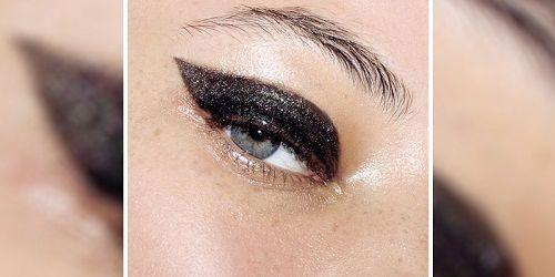 Το glossy cat-eye.