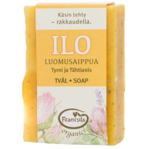 La mousse onctueuse et douce élimine délicatement les impuretés de la peau, tout en gardant son hydratation naturelle.
